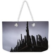 Fence Posts Weekender Tote Bag