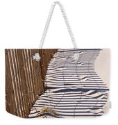 Fence Shadow Weekender Tote Bag