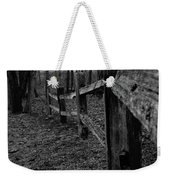 Fence To Nowhere Weekender Tote Bag