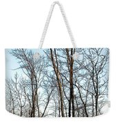 Fenced In Landscape Weekender Tote Bag