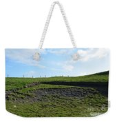 Fencing Along A Field Above The Cliff's Of Moher Weekender Tote Bag