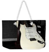 Fender Guitar And Amp In Selective Color Weekender Tote Bag