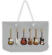 Fender Guitar Collection Weekender Tote Bag