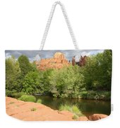 Feng Shui In Sedona Weekender Tote Bag by Carol Groenen