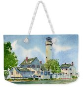 Fenwick Island Lighthouse Weekender Tote Bag
