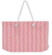 Fermat Spiral Pattern Effect Pattern Red Weekender Tote Bag