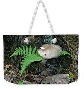 Fern And Mushroom Weekender Tote Bag