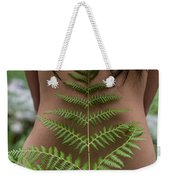 Fern And Woman Weekender Tote Bag