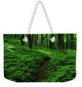 Fern Lined At In Ma Weekender Tote Bag