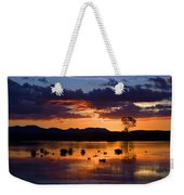 Fern Ridge Sunset Weekender Tote Bag