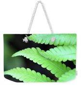 Fern Tips - Digital Painting Weekender Tote Bag