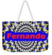 Fernando Weekender Tote Bag
