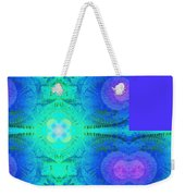 Ferns 2j Hotwax 3 Fractal Plus Weekender Tote Bag
