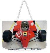Ferrari 126ck Front Museo Ferrari Weekender Tote Bag