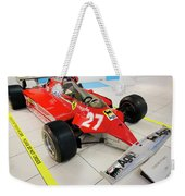 Ferrari 126ck Front Right Museo Ferrari Weekender Tote Bag