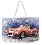 1953-1955 Ferrari 500 Mondial 1000 Miglia Weekender Tote Bag