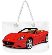 Ferrari California Weekender Tote Bag