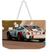 Ferrari Daytona - Italian Flag Livery Weekender Tote Bag