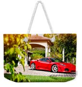 Ferrari F430 On Adv1 Wheels 2 Weekender Tote Bag