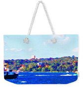 Ferries In The Harbor Weekender Tote Bag