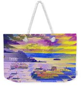 Ferries Off Alki Weekender Tote Bag