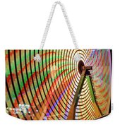 Ferris Wheel  Closeup Night Long Exposure Weekender Tote Bag