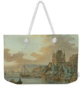 Ferry Across A River Weekender Tote Bag