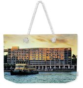 Ferry And The Toaster Weekender Tote Bag