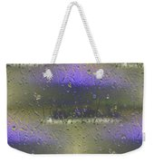 Ferry In The Fog Weekender Tote Bag