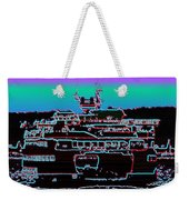 Ferry On Elliott Bay 4 Weekender Tote Bag