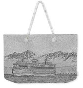 Ferry On Elliott Bay 5 Weekender Tote Bag