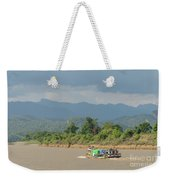 Ferry On The Chindwin 2 Weekender Tote Bag