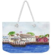 Ferry To Greenport Weekender Tote Bag