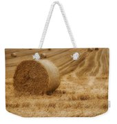 Festival Of Hay Balls In Scotland Weekender Tote Bag