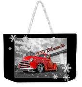 Festive Chevy Truck Weekender Tote Bag