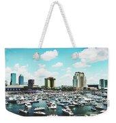 Festive Tampa Bay Weekender Tote Bag
