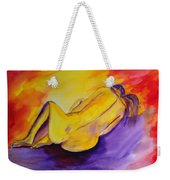 Fetal Position Weekender Tote Bag