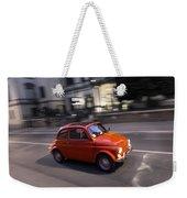 Fiat 500, Italy Weekender Tote Bag
