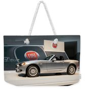 Fiat 124 Spider Weekender Tote Bag
