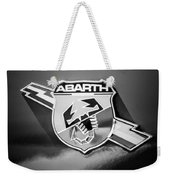 Fiat Abarth Emblem -ck1611bw2 Weekender Tote Bag