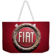 Fiat Emblem -1621c Weekender Tote Bag