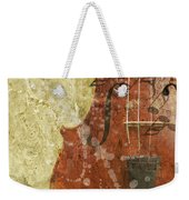 Fiddle In Grunge Style Weekender Tote Bag