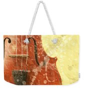 Fiddle Weekender Tote Bag