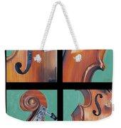 Fiddle Quartet Weekender Tote Bag