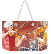 Fiddles Weekender Tote Bag