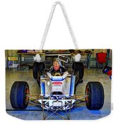 Fiddling About Indy Garages Weekender Tote Bag