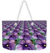 Field Of African Violets Weekender Tote Bag