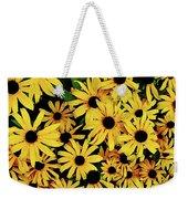 Field Of Black-eyed Susans Weekender Tote Bag