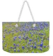 Field Of Blue Bonnet Flowers Weekender Tote Bag