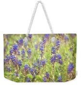 Field Of Blue Lupines  Weekender Tote Bag